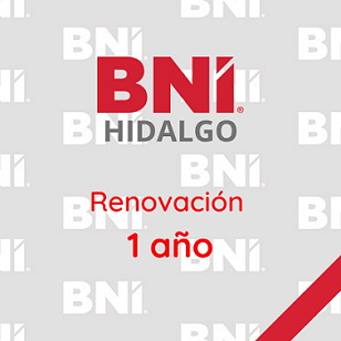 Renovación de Membresía BNI