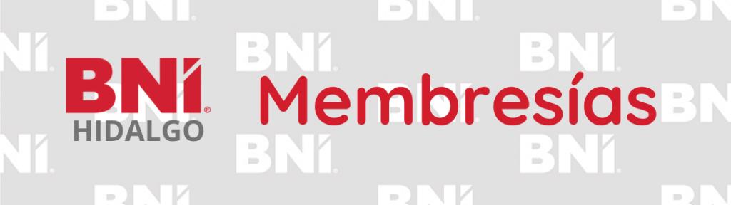 Membresías BNI Hidalgo